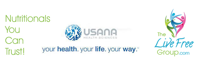 USANA Live Free Group footer