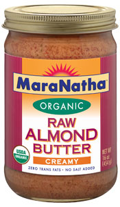 quinoa raw almond butter